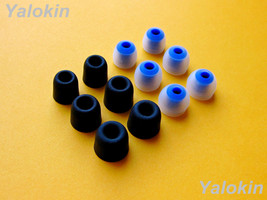 12 pcs (BMF-CLBL) S/M/L Memory Foam and Round Eartips for Jaybird Bluebuds X - $14.84