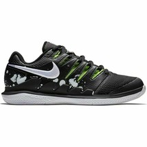 Nike Men Air Zoom Vapor X Premium Black White Volt Shoes AV3911 001 Size... - $109.95