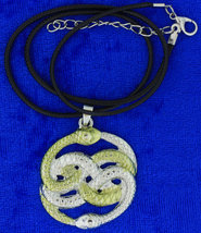 Neverending story necklace choker thumb200