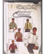 Simplicity 7015 Men's Shirt - Size 44 - UNCUT F... - $6.00