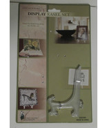 """Clear Plastic Display Easel 4 1/2"""" - $6.84"""