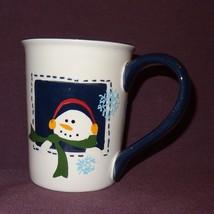 Christmas Santa Claus Reindeer Snowman  Coffee Mug Cup 16 oz Sonoma - $14.99