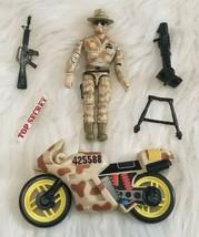 1986 Lanard The Corps World Response Team COMPLETE Set Jones Motorcycle Weapons - $11.02