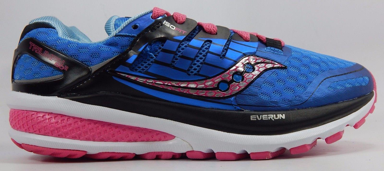 Saucony Triumph ISO 2 Women's Running Shoes Size US 7 M (B) EU 38 Blue S10290-2