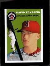 2003 TOPPS HERITAGE #279 DAVID ECKSTEIN NMMT *C8315 - $2.00