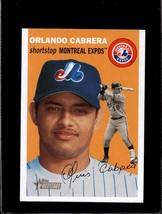 2003 TOPPS HERITAGE #292 ORLANDO CABRERA NMMT *C8326 - $2.00