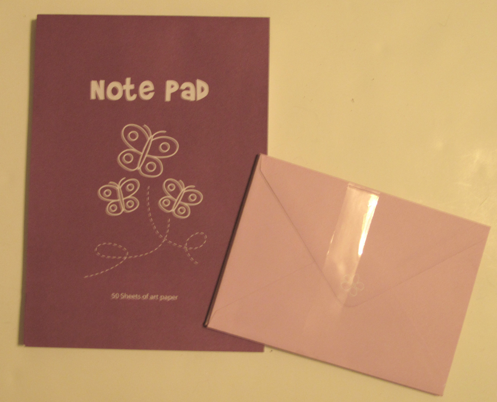 Primary image for Notepad 50 Sheet with 6 Envelopes