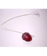 Jewelry Swarovski Rose Button Quail Egg Acorn S... - $20.00