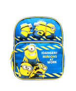 "Despicable Me Minions Blue Mini 10"" Backpack Licensed by Disney New for ... - $14.99"