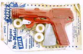 Langsom Super Nu-Matic Paper Buster die cast toy cap pistol - $36.00