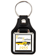 Ford Fairlane Sunliner 1955 yellow  key fob - $7.50