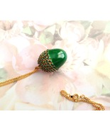 Jewelry, Swarovski, Emerald, Button Quail Egg, ... - $20.00