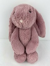"""Jellycat London Pink / Purple Bashful Bunny 13"""" Tall Soft Cute Stuffed Animal  - $28.70"""