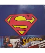 DC Comics Superman Logo Light-up Wall Art Canvas 16X16X1 - $29.69
