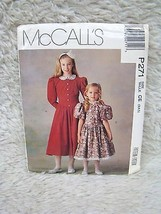 McCall's #P271 Uncut Sewing Pattern (Sz 2,4,5) Childrens' and Girls' Dress - $4.95