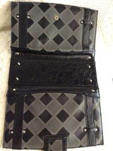 Miche Classic Shell Charlotte Black/Grey with Diamond pattern & rivet De... - $20.00