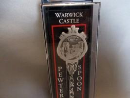 Warwick Castle, England -Pewter Spoon Collectible NIB. - $4.49