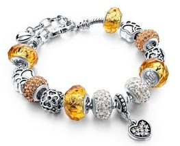 Arista Gems European style charm bracelet - £17.51 GBP