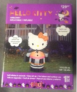 5 foot Indoor Outdoor Inflatable Hello Kitty Witch Halloween Decoration ... - $29.95