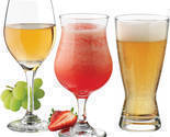 Bar glass set barware glassware wine cocktail beer glases clear 12 pieces thumb155 crop