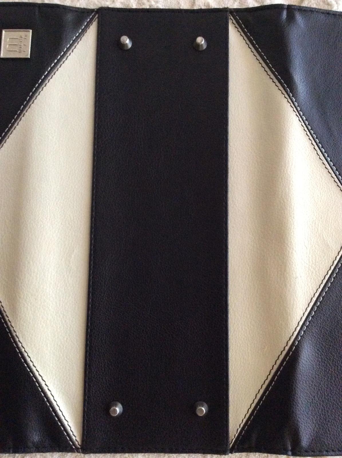 Miche Classic Shell Kenzie Black and White Large Diamond pattern