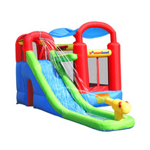 Inflatable Water Slide Outdoor Birthday Party Jump Kids Child Fun Explor... - $602.99