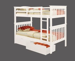 Twin Bunk Beds with Storage Drawers - $741.51