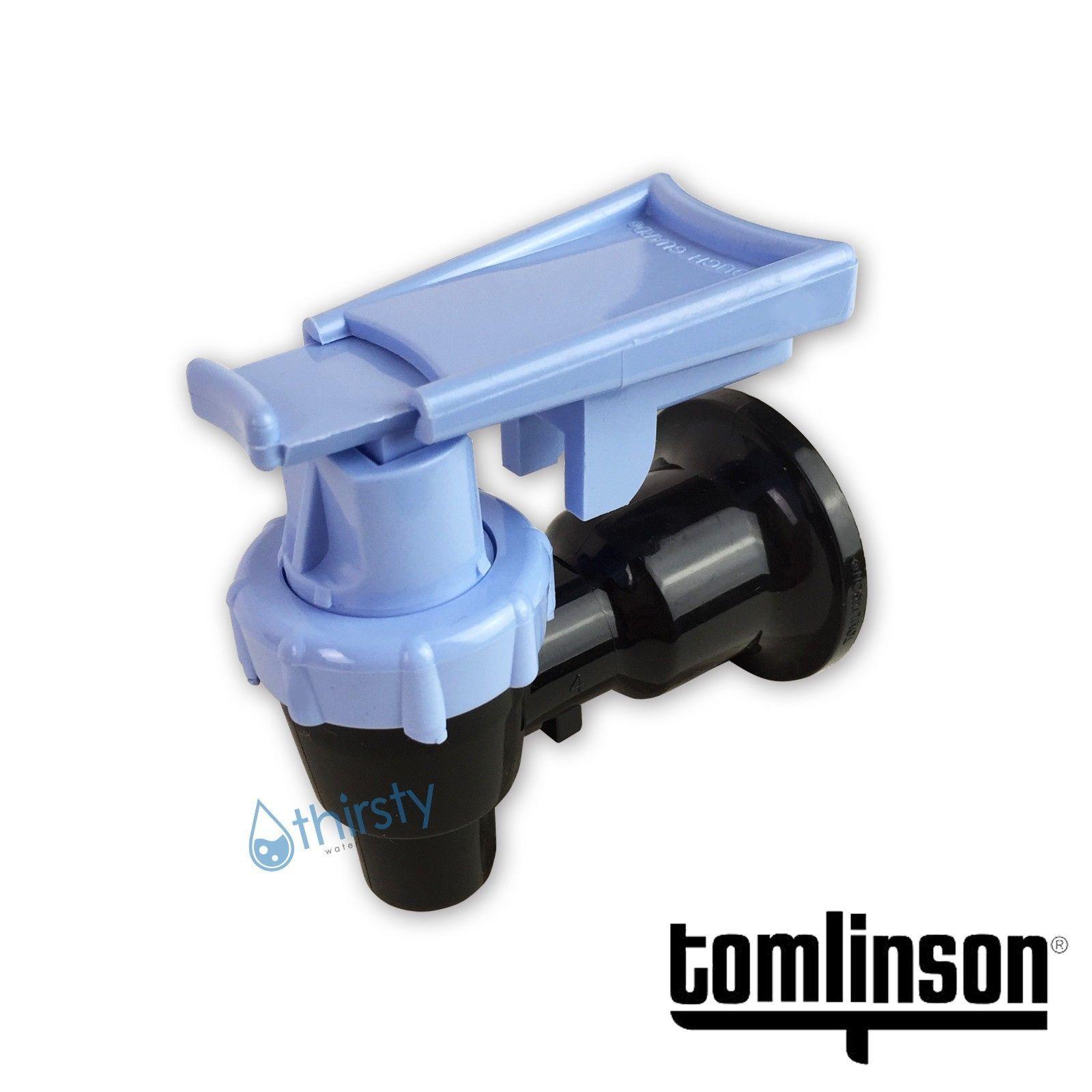 Tomlinson Spigot Water Crock Replacement Spigot Faucet Base Body Blue USA