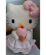 Vintage Hello Kitty With Icecream Cone Stuffed ... - $14.99
