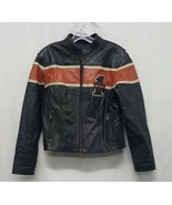 Harley Davidson Leather Jacket Womens Size Medium - $294.00