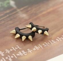 Arch Punk Rock Style Rivets Stud Earrings - $5.99