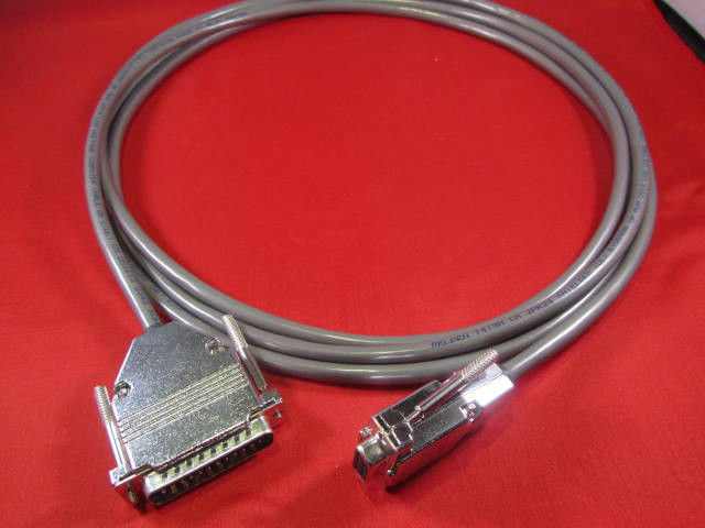 30 ft Quality CNC DNC RS232 Serial Cable DB9F to DB25M for PC and Laptop Kit.