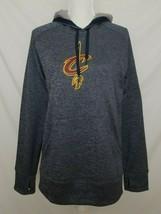 Adidas Cleveland Cavaliers Womens L Sweatshirt Hoodie Climawarm Gray L/S... - $19.99