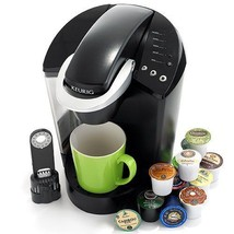 Black Coffee Brewing System Keurig K45  Single K Cups Pot Espresso Office  - €108,17 EUR