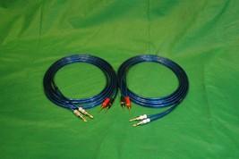 Samurai TRUE 10 Gauge Wire Speaker Cable W/ 2 Pin to 2 Banana Plugs, 5 Ft. - $31.75