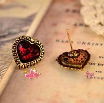 Heart Shaped Earrings - $5.89