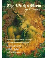 The Witch's Brew, Vol 4, Issue 2 (Pagan MagazineApril, May, June 2016) - $3.95
