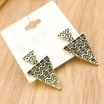 Stylish Antique Tree Shaped Stud Earrings(Vintage Gold) - $5.80