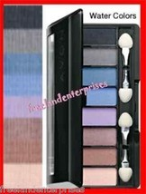 Make up Eye Shadow-8-in-1 Eye Palette Blue Water Colors ~NEW~ - $11.83