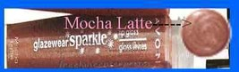 Make Up Lip GLAZEWEAR Liquid Lip Color Mocha Latte SPARKLE - $6.88