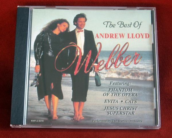 Best Andrew Lloyd Webber Phantom Opera Cats Evita Jesus Christ Superstar CD
