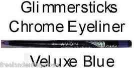 Make Up Glimmersticks Eye Liner Retractable CHROMES ~Color Veluxe Blue~ NEW - $6.88