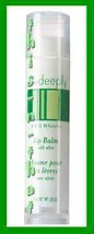 Make Up Lip Balm Basics Care Deeply with Aloe 1 Green & White Tube - $9.95