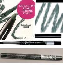 Make Up Glimmersticks Eye Liner Retractable CHROMES ~Color Striking Emer... - $6.88