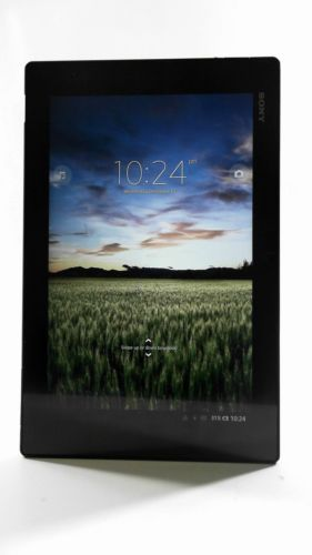 Sony 6S14zq1 Xperia Z Black 32GB Tablet Wi-Fi Bluetooth 10.1