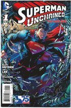 Superman Unchained #1 NM Variant Cover Jim Lee Scott Snyder DC Comics - ... - $8.99