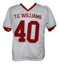 Petey Jones T.C.Williams The Titans Movie New Football Jersey White Any Size image 1