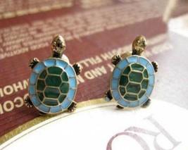 Vintage Turtle Stud Earrings - $5.80