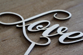 NEW on Market LOVE Cake Topper -Wedding Anniversary Cake Topper Laser Cut - $12.42