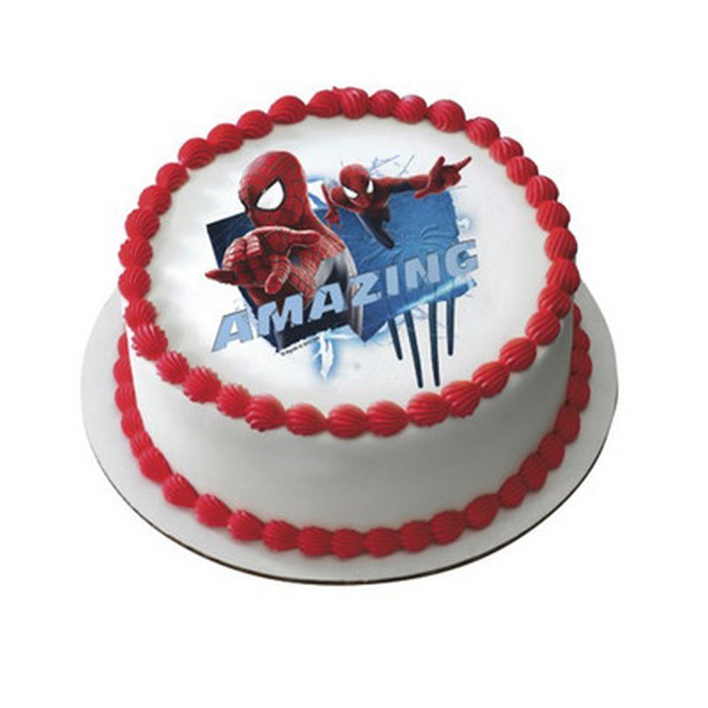 The Amazing Spiderman Edible Cake Decoration ~ Package of ...